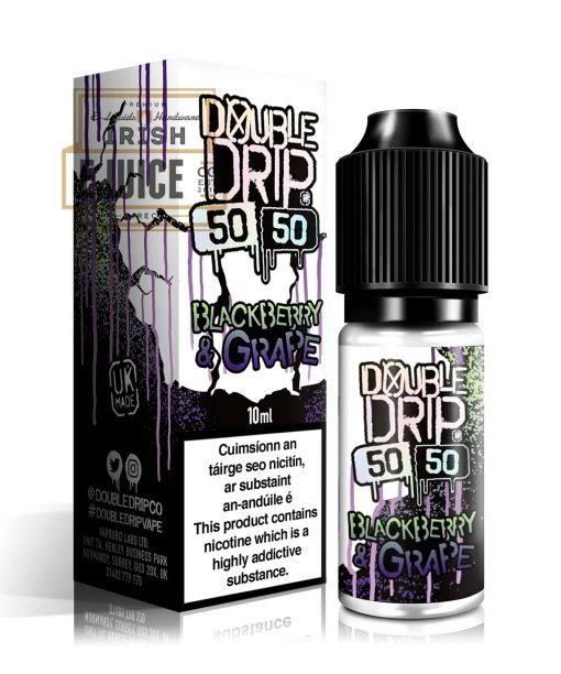 Double Drip Blackberry & Grape